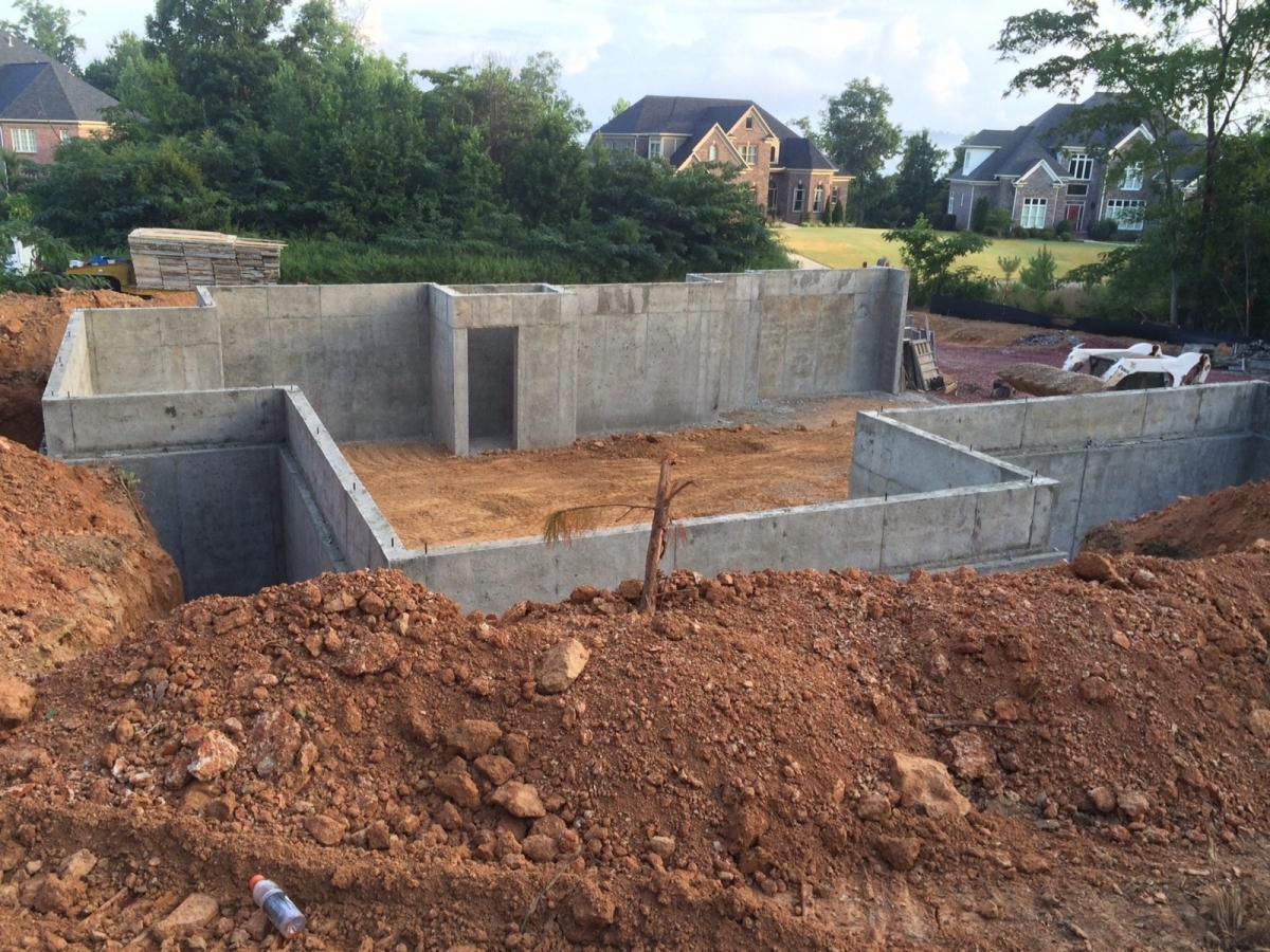 Poured Concrete Walls Concrete Formed Walls