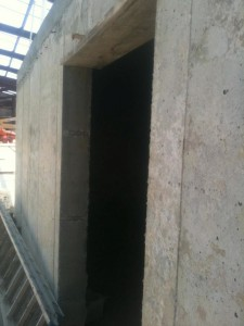 Formed Basement Wall Opening