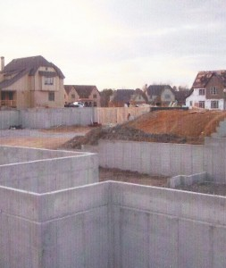 Foundations for a Subdivision