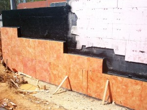 Waterproofing installation