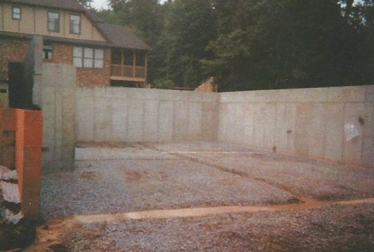 Poured Concrete Walls In I Moved From Kentucky To