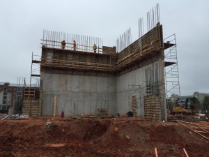 46' Theatre Wall for the University of Alabama- Huntsville